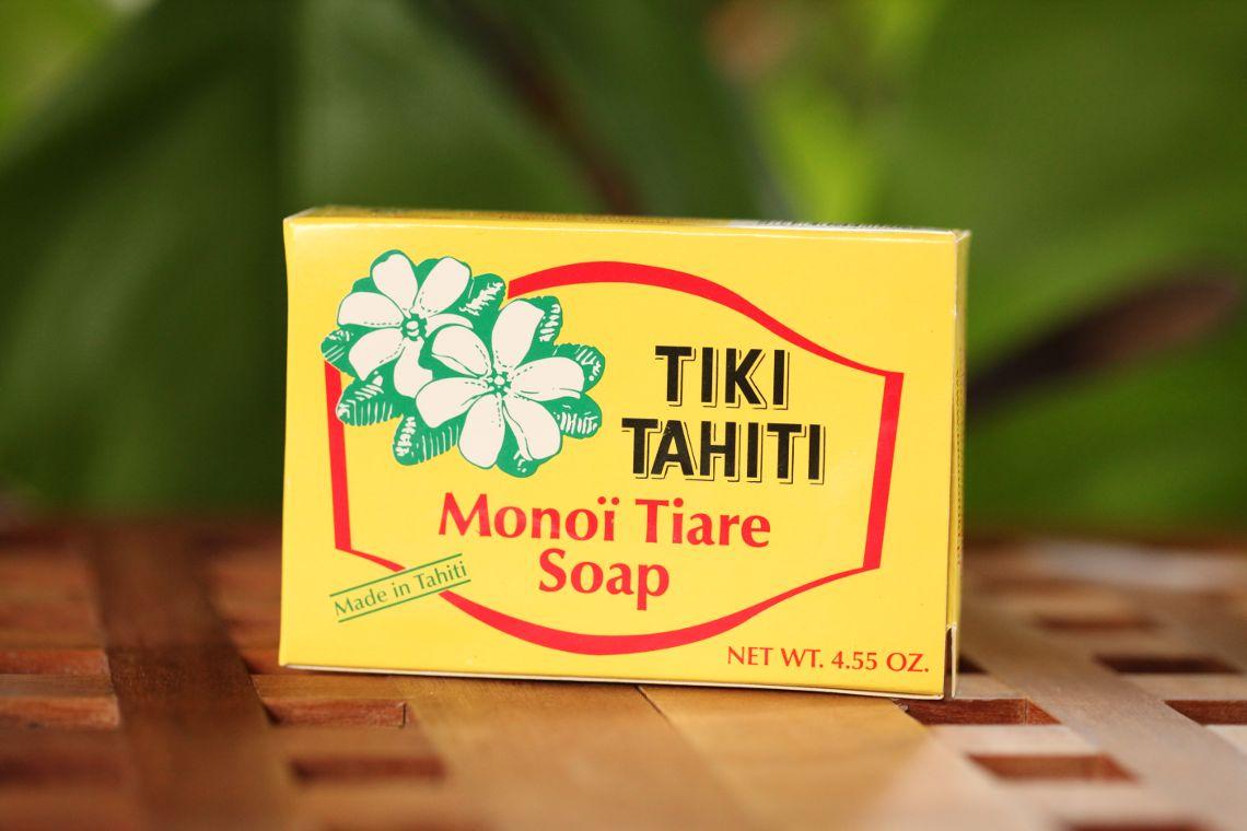 Savon tiki monoï fleur de tiaré