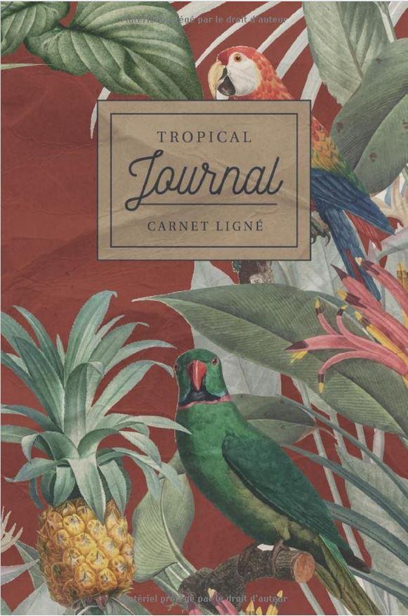 Tropical journal carnet ligné