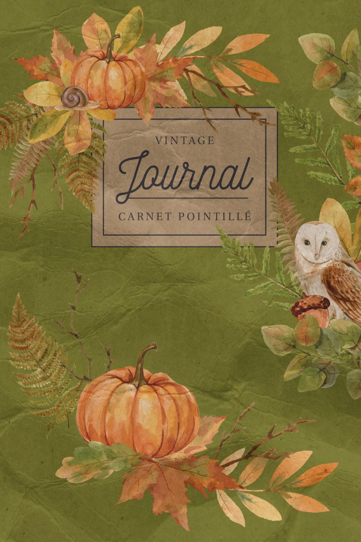Carnet de notes pointillé Bullet Journal