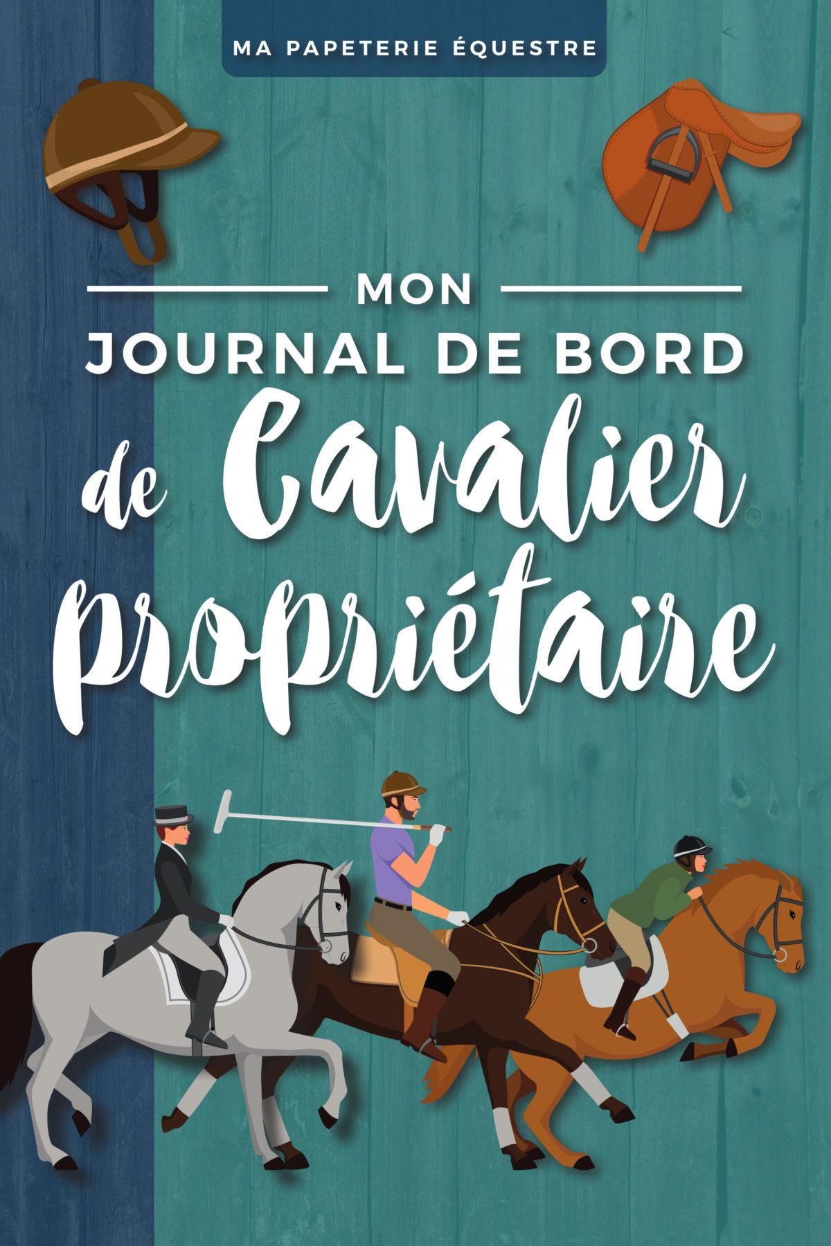 Journal de Bord de cavalier propriétaire Carnet équitation