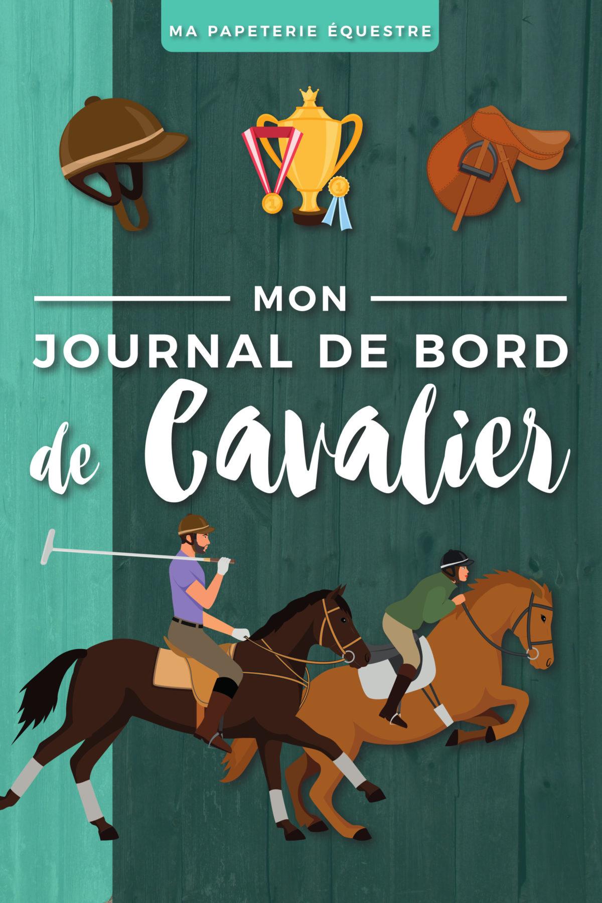 Journal de Bord de cavalier Carnet équitation Travail du cheval