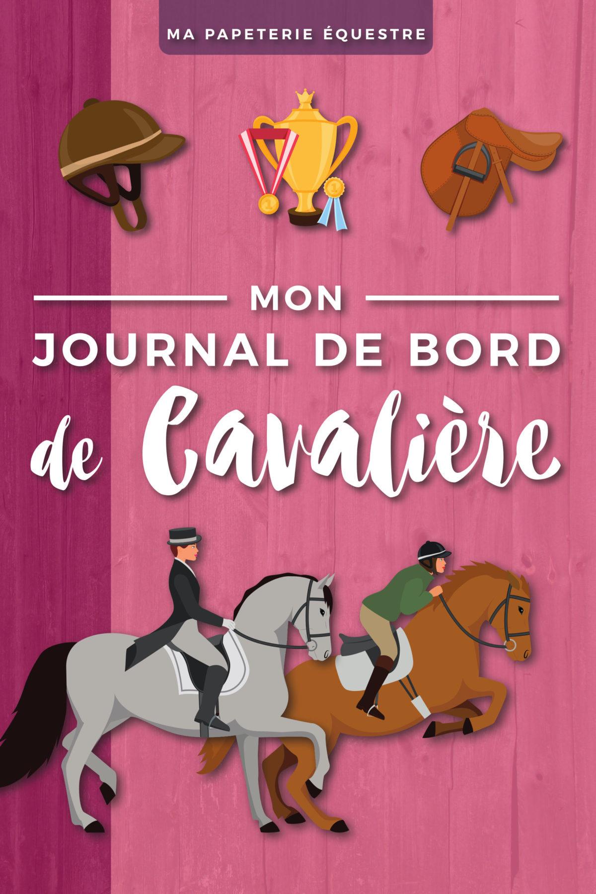Journal de Bord de cavalière Carnet équitation Travail cheval